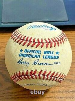 TED WILLIAMS 5 SIGNED AUTOGRAPHED OAL BASEBALL! Red Sox