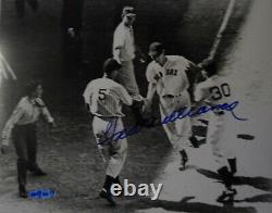 TED WILLIAMS AUTOGRAPHED 8x10 UPPER DECK AUTHENTICATED RED SOX