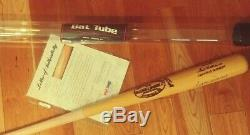 TED WILLIAMS AUTOGRAPHED BAT PSA LOA W215 Louisville Slugger Red Sox HOF with Tube