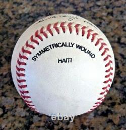 TED WILLIAMS, Boston Red Sox, single signed baseball with PSA LOA