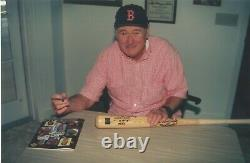 TED WILLIAMS SIGNED STAT BAT With 4 HANDWRITTEN STATS PSA/DNA CERTIFIED AUTOGRAPH