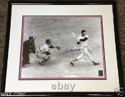 TED WILLIAMS Signed 16x20 Photo Home Run in Last At Bat Autograph COA Included