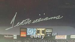 TED WILLIAMS Signed All Star Game Century Players Print Green Diamond COA 39x14