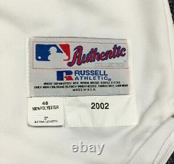TIM WAKEFIELD GAME USED 2002 RED SOX JERSEY withTED WILLIAMS ARMBAND & #9 SIGNED