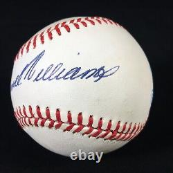 Ted Theodore Samuel Williams SIGNED MLB Baseball