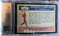 Ted Williams 1959 Fleer hand signed Autograph card GAI Graded