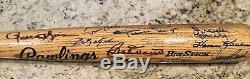 Ted Williams 31 MULTI Signed HALL OF FAME BAT HOF JSA Autographed Mays Banks COA