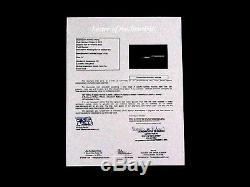 Ted Williams Aaron Mays Musial Yaz Berra Seaver Hof Bat 50+ Signed Auto Jsa Ltr