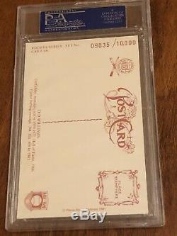 Ted Williams Autographed 1989 Perez Steele Postcard PSA/DNA 10000 + Bonus Auto