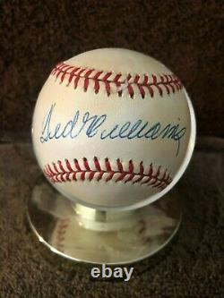 Ted Williams Autographed AL Baseball