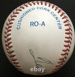 Ted Williams Autographed American League Baseball, JSA LOA