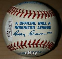 Ted Williams Autographed Baseball. JSA Authenticated. Case Included