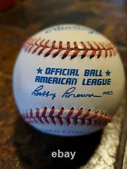 Ted Williams Autographed Baseball UDA