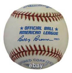 Ted Williams Autographed Boston Red Sox American League Baseball UDA 30600