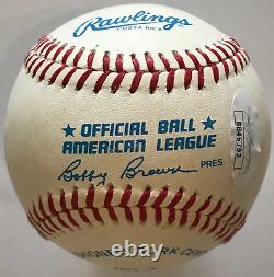 Ted Williams Autographed Official American League Baseball (JSA)