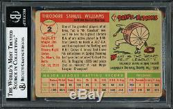 Ted Williams Autographed Signed Auto 1955 Topps Card #2 Red Sox Beckett 12058878