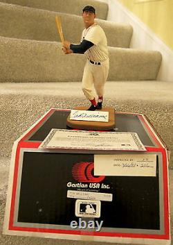 Ted Williams Boston Red Sox Autographed Gartlan Limited Edition Figurine #9