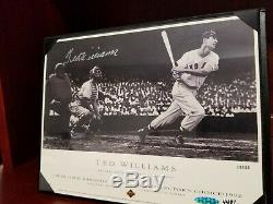 Ted Williams Boston Red Sox Photo 14x12 Autographed and Authenticated