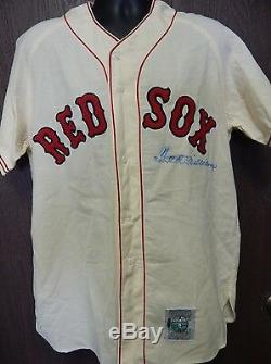 Ted Williams Boston Red Sox Signed Cooperstown Jersey Authenticated by UDA COA