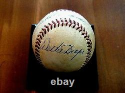 Ted Williams Hof Boston Red Sox Signed Auto Game Used Giles Baseball Jsa Loa