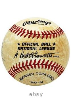Ted Williams & Jack Fisher Dual-Signed Baseball (Allowed Williams Final HR)