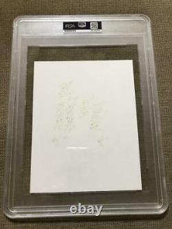 Ted Williams Mickey Mantle Yogi Berra 8x10 Photo Signed Autograph Auto PSA/DNA 9