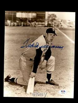 Ted Williams PSA DNA Coa Signed 8x10 Photo Autograph
