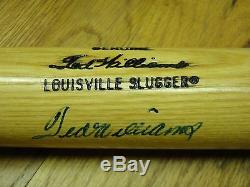 Ted Williams Psa/dna Certified Signed Louisville Slugger W215 Bat Autographed