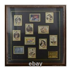 Ted Williams Red Sox Uda Autographed Framed Heroes Trading Card Set Le /406
