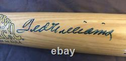 Ted Williams SIGNED Cooperstown Bat Co. Bat #566 with Certificate of Autheticity