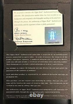 Ted Williams Signed American League Baseball Auto Autograph Upper Deck Cert