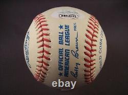 Ted Williams Signed American League Baseball JSA