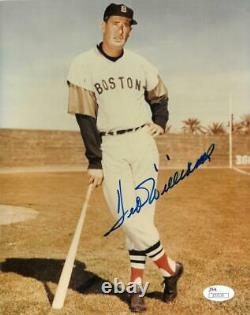 Ted Williams Signed Authentic Autographed 8x10 Photo JSA COA