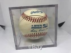 Ted Williams Signed Auto Autograph Rawlings Baseball MLB HOF AMAZING CONDITION