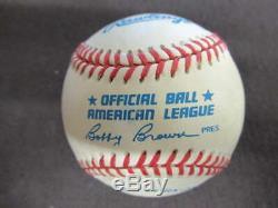 Ted Williams Signed Autograph Auto Oalb Baseball Green Diamond Holo Bb1684