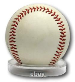 Ted Williams Signed Autograph Baseball OAL Ball With Case Red Sox PSA/DNA AI01187
