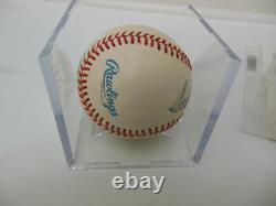 Ted Williams Signed Autographed Oal Baseball Jsa Loa