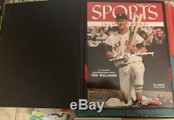 Ted Williams Signed Autographed Sports Illustrated Cover Autographed UDA WithBox