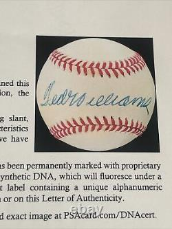 Ted Williams Signed Baseball Autographed AUTO PSA/DNA LOA Boston Red Sox HOF