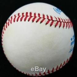Ted Williams Signed Baseball JSA LOA