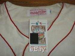 Ted Williams Signed Beckett (bas) Certified Red Sox Stat Jersey 99/344 Autograph