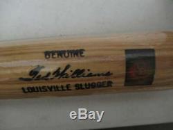 Ted Williams Signed Louisville Slugger Baseball Bat Inscribed 1941.406 Bt044