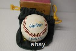 Ted Williams Signed Officialal Baseball, Upper Deck authenticated With Topps 1
