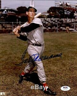 Ted Williams Signed Photo 8x10 Autographed Red Sox PSA/DNA AH41817