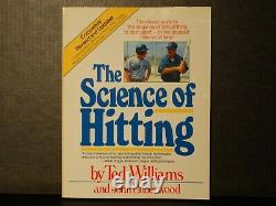 Ted Williams The Science of Hitting SIGNED LARGE BOLD ON IMAGE AUTOGRAPH