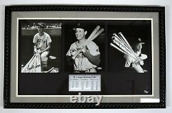 Ted Williams Tony Gwynn Stan Musial Signed Auto Autograph Uda Upper Deck Le/210