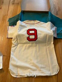 Ted Williams UDA Upper Deck Signed Autograph Boston Red Sox Jersey RARE WithBOX