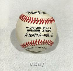 Ted Williams & W. H. Bill Terry Autographed Baseball - The Last Two. 400 Hitters