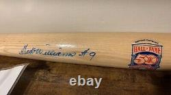 Ted Williams autographed signed HOF bat with No 9 inscription JSA LOA Red Sox