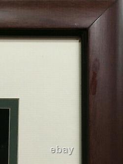 Ted Williams signed 16x20 photo framed mint autograph Green Diamond holo COA